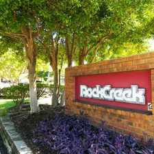 Rental info for Rockcreek Apartments in the Memphis area