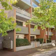 Rental info for Modern & spacious split level 2 bedroom apartment. Enter from Renwick St, Redfern