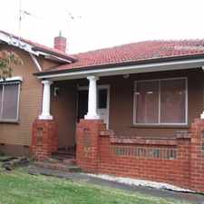 Rental info for Californian Bungalow In Central Oakleigh