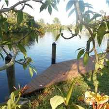 Rental info for Beautiful riverfront rental unit (2/1) w boat dock in the Bonita Springs area