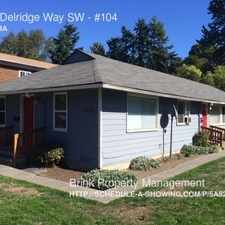 Rental info for 5632 Delridge Way SW in the High Point area