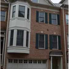 Rental info for Luxurious Townhome/primere location in the East Falls Church area