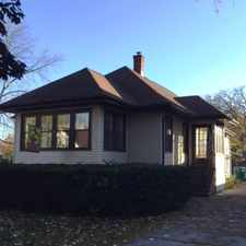 Rental info for OAK PARK FRANK LLOYD WRIGHT HISTORIC DISTRICT~BANK OWNED BUNGALOW~just listed!