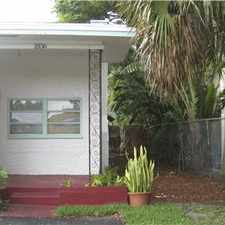 Rental info for 100% renovated , beautiful very Spacious 2/1 House in the Hollywood area