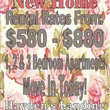 Rental info for Hayden's Landing Apartments