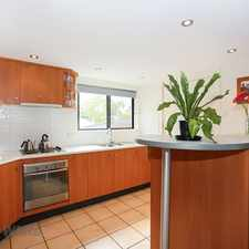 Rental info for Large air-conditioned two bedroom in leafy Street. in the Brisbane area