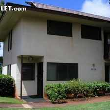 Rental info for Three Bedroom In Aiea in the Pearl City area