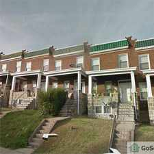 Rental info for This is a Beautiful Apartment in a Nice Area. Move in Ready!!! in the Winston - Govans area