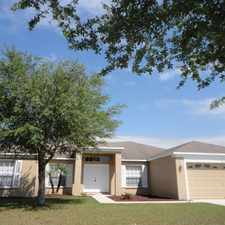 Rental info for SINGLE FAMILY HOME FOR RENT