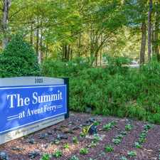 Rental info for The Summit at Avent Ferry