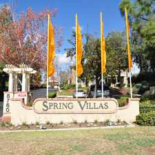 Rental info for Spring Villa Apartments in the San Diego area