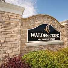 Rental info for WALDEN CREEK