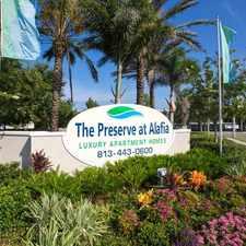 Rental info for Preserve at Alafia
