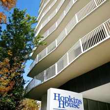 Rental info for Hopkins House Apartments in the Baltimore area