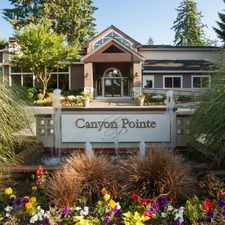 Rental info for Canyon Pointe