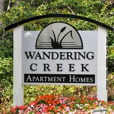 Rental info for Wandering Creek Apartments