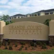 Rental info for Grande Court North Port