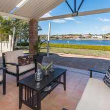 Rental info for MAKE THIS WATERFRONT CASTLE YOUR NEW HOME in the Helensvale area