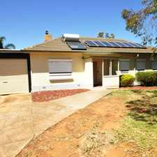 Rental info for Solar Power, 3 Bedroom & 20x40 Garage in the Elizabeth Vale area
