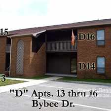 Rental info for 121 Bybee Drive