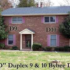 Rental info for 115 Bybee Drive