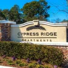 Rental info for Cypress Ridge Apartments