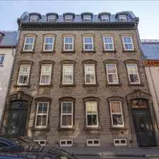 Rental info for : 30 Ste. Ursule Street, 1BR
