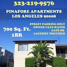 Rental info for Linder and Associates in the Los Angeles area