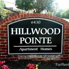 Rental info for Hillwood Pointe