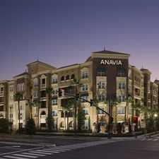 Rental info for Anavia
