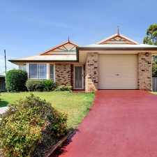 Rental info for Neat and Tidy 3 Bedroom Home in Glenvale, in the Glenvale area