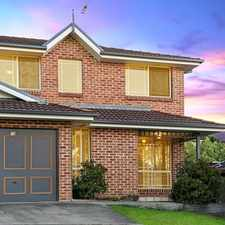 Rental info for Application and Deposit Received in the Cherrybrook area