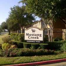 Rental info for Mustang Creek Townhomes