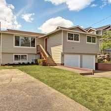 Rental info for Remodeled - Large Lot Home near Seward Park