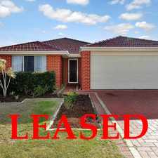 Rental info for LEASED LEASED LEASED in the Perth area