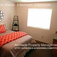Rental info for 2102 North Walnut - 2 Bedroom