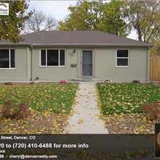 Rental info for 2 Bedroom Home, Stapleton, Anschutz in the East Colfax area