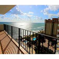 Rental info for 2030 South Ocean Drive #1700