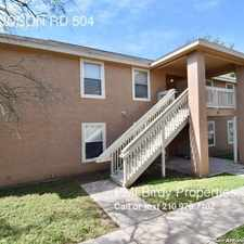 Rental info for 14675 JUDSON RD 504 in the San Antonio area