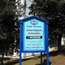 Rental info for Jane and Eglinton: 898 Jane Street, 1BR in the Rockcliffe-Smythe area