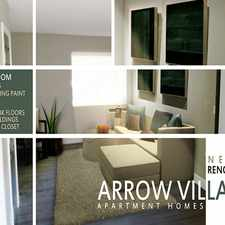 Rental info for Arrow Village