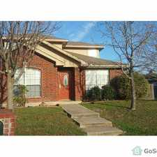 Rental info for 2 STORY with Master bedroom downstairs included private bathroom,garden tub,and separate shower. in the Dallas area