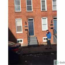 Rental info for Dynamite 2 bed room 1 bath Town home $1200. / monthly rental in the Baltimore area