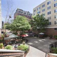 Rental info for The Courtyard at Jefferson in the Hoboken area