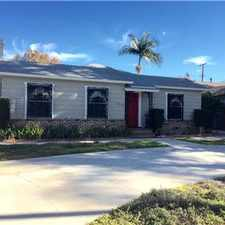 Rental info for SANTA ANA FLORAL PARK! in the Downtown area