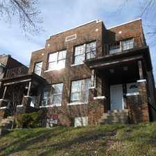 Rental info for 309 Eichelberger, 1st Floor, St. Louis in the Mount Pleasant area