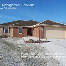Rental info for 4139 SW Moundview Dr.