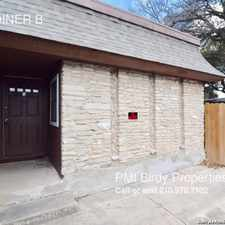 Rental info for 5803 JOINER B in the San Antonio area