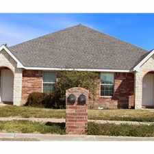 Rental info for Great Town House for Rent in Wylie, TX in the Wylie area