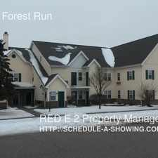 Rental info for 1717 Green Forest Run